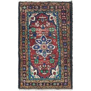 Link to 2' 3 x 3' 9 Hamedan Persian Rug item page