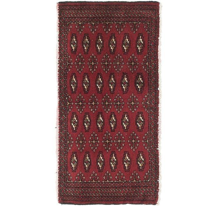 HandKnotted 1' 9 x 3' 4 Torkaman Persian Rug