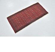 Link to 1' 9 x 3' 9 Torkaman Persian Rug