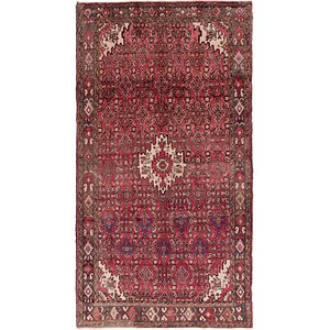 HandKnotted 5' 5 x 9' 9 Hossainabad Persian Rug
