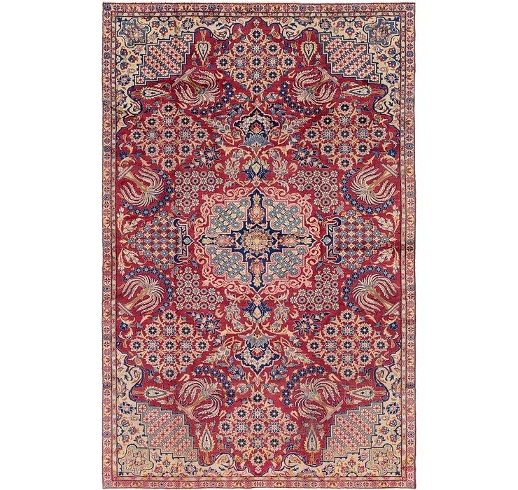 7' 5 x 11' 5 Isfahan Persian Rug