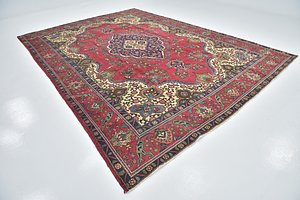 Link to 9' 6 x 13' 3 Tabriz Persian Rug item page