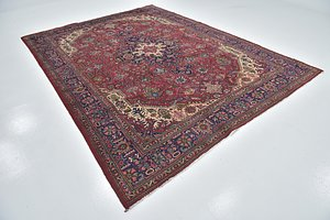 Link to 8' 5 x 11' 2 Tabriz Persian Rug item page