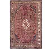 Link to 6' 6 x 9' 10 Hossainabad Persian Rug