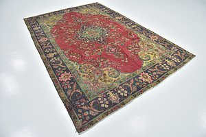 Link to 6' 7 x 9' 8 Tabriz Persian Rug item page