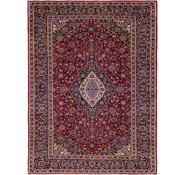 9' x 12' 2 Kashan Persian Rug