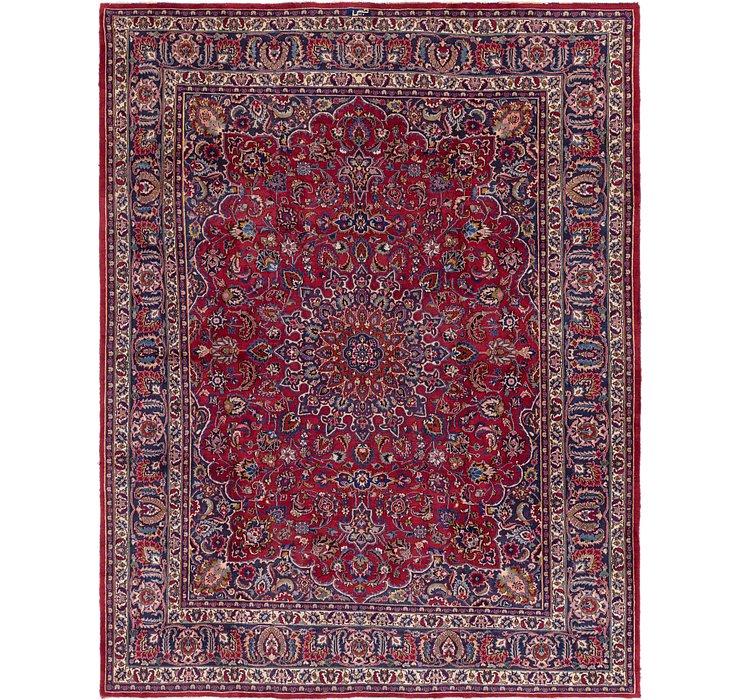 9' 9 x 12' 4 Mashad Persian Rug