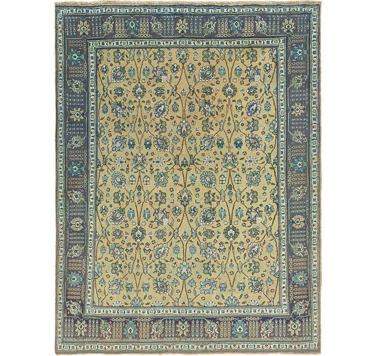 9' 10 x 12' 7 Tabriz Persian Rug