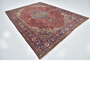 Link to 8' 6 x 11' 5 Tabriz Persian Rug item page