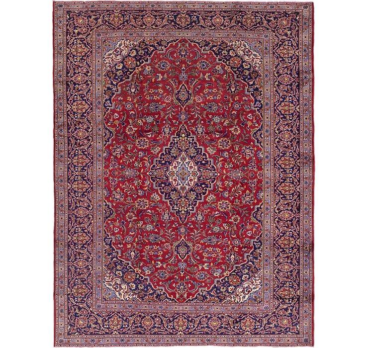 9' 5 x 12' 7 Kashan Persian Rug