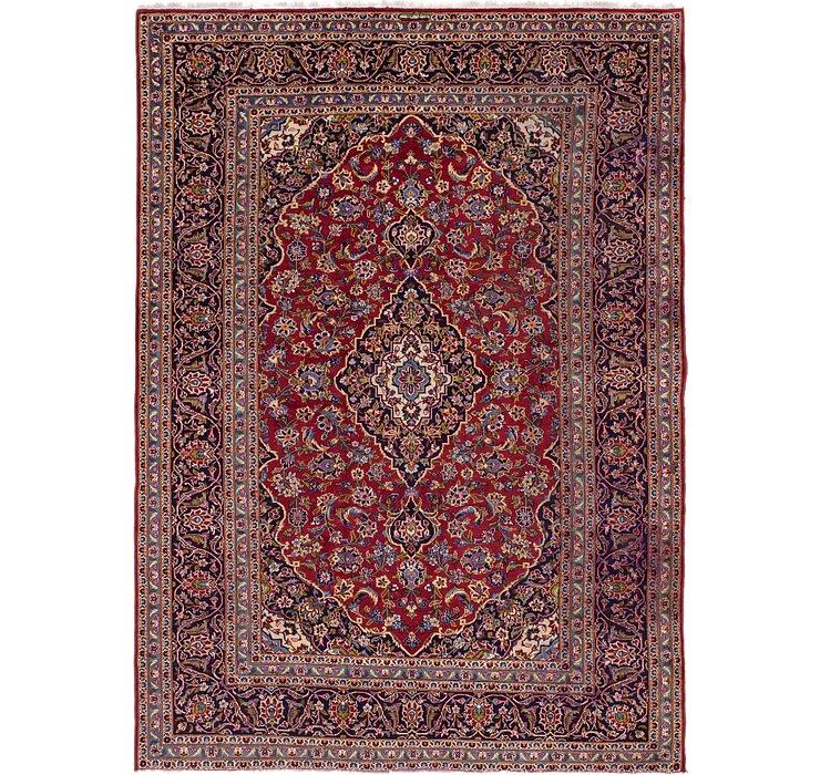 8' 7 x 12' 2 Kashan Persian Rug