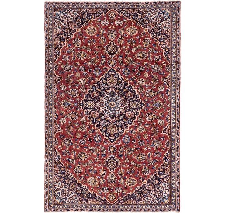 6' 3 x 9' 8 Kashan Persian Rug