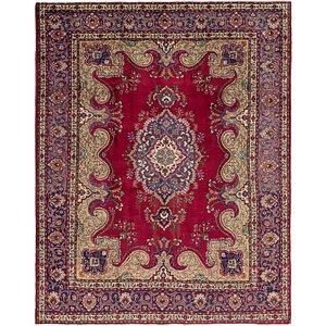 HandKnotted 10' x 12' 5 Tabriz Persian Rug