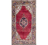 Link to 5' 10 x 11' Tabriz Persian Runner Rug