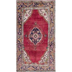 5' 10 x 11' Tabriz Persian Runner Rug