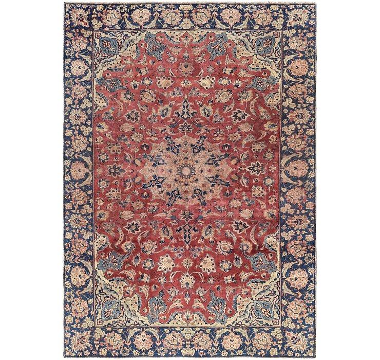 7' 6 x 10' 5 Isfahan Persian Rug
