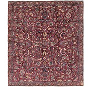Link to 7' 6 x 8' 5 Mashad Persian Square Rug