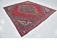 Link to 9' x 10' 3 Tabriz Persian Square Rug