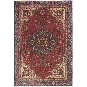 Unique Loom 6' 3 x 9' 3 Tabriz Persian Rug