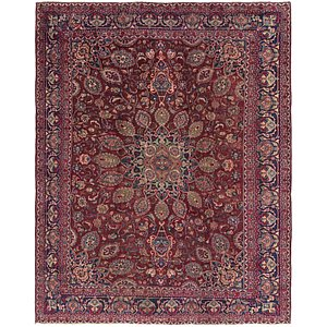 Link to 297cm x 373cm Mashad Persian Rug item page