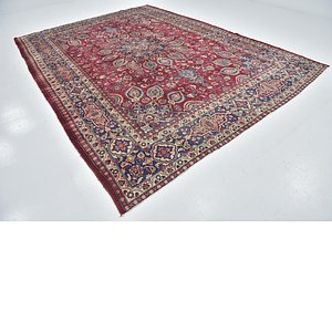 Link to 9' 3 x 12' 10 Mashad Persian Rug item page