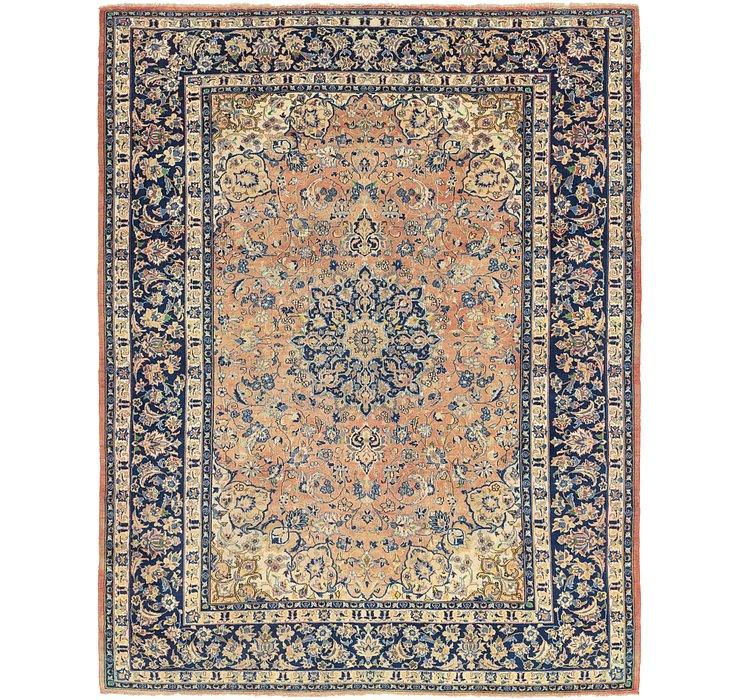 9' 8 x 12' 4 Isfahan Persian Rug