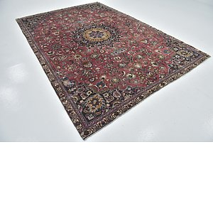 Link to 7' 4 x 10' 7 Mashad Persian Rug item page