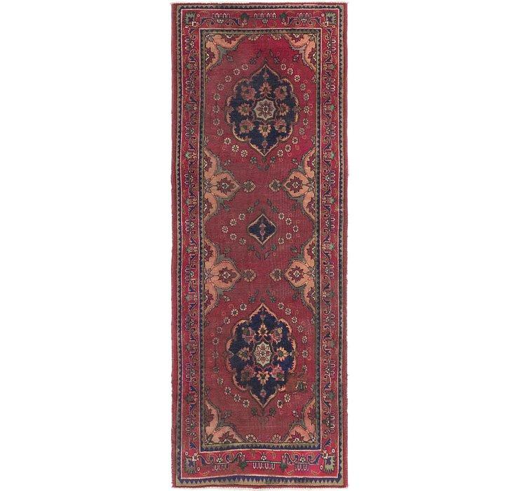 3' 5 x 9' 3 Tabriz Persian Runner Rug