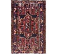 Link to 4' 4 x 6' 7 Hamedan Persian Rug