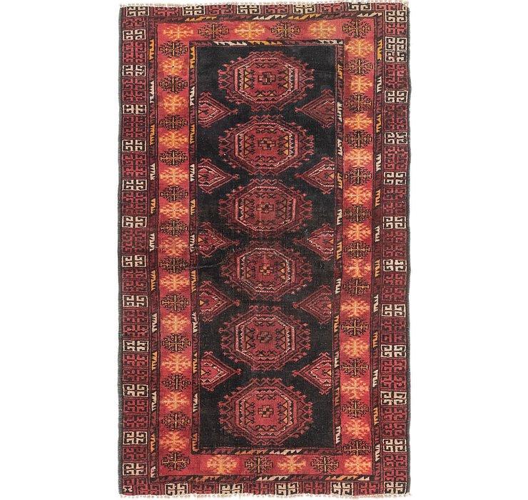 3' 5 x 5' 9 Balouch Persian Rug