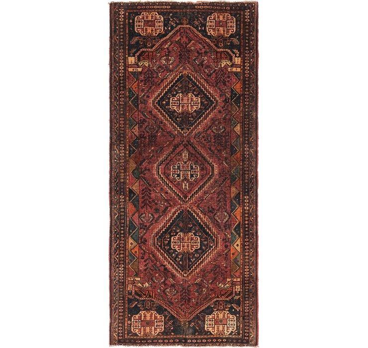 3' 5 x 8' 3 Shiraz Persian Runner Rug