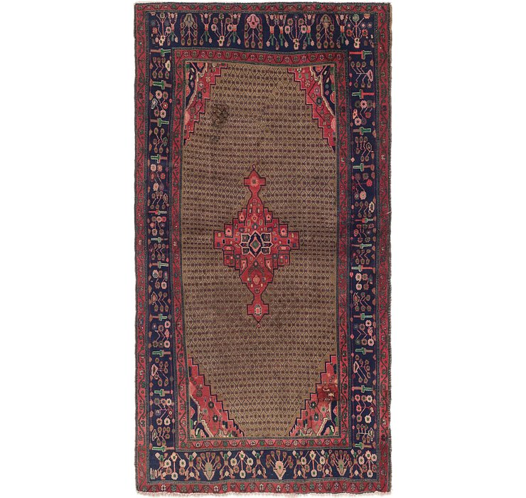 5' x 9' 3 Songhor Persian Rug