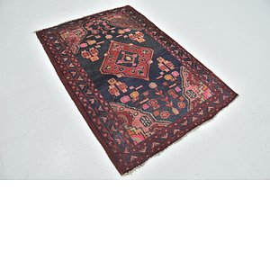 Link to 112cm x 157cm Hamedan Persian Rug item page