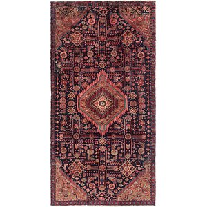 3' 8 x 7' Mazlaghan Persian Rug