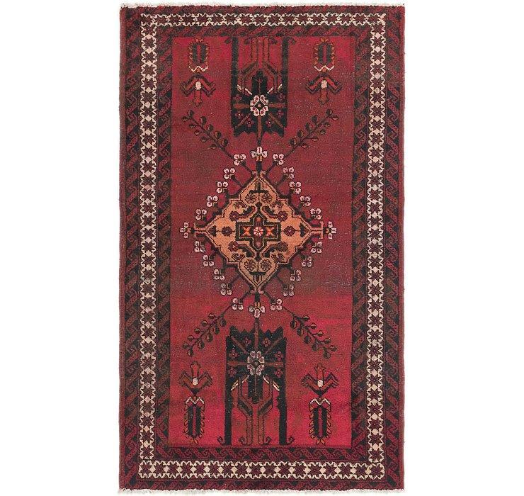 3' 10 x 6' 8 Ferdos Persian Rug