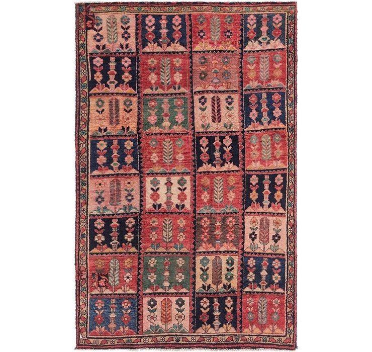 4' x 6' 4 Bakhtiar Persian Rug