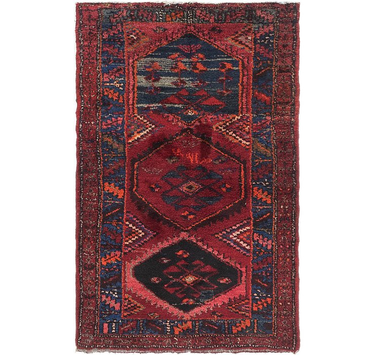 3' 7 x 5' 8 Shiraz Persian Rug