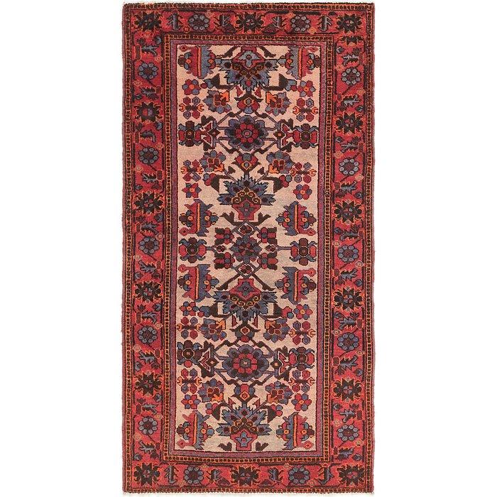 3' 8 x 7' Shiraz Persian Runner Rug
