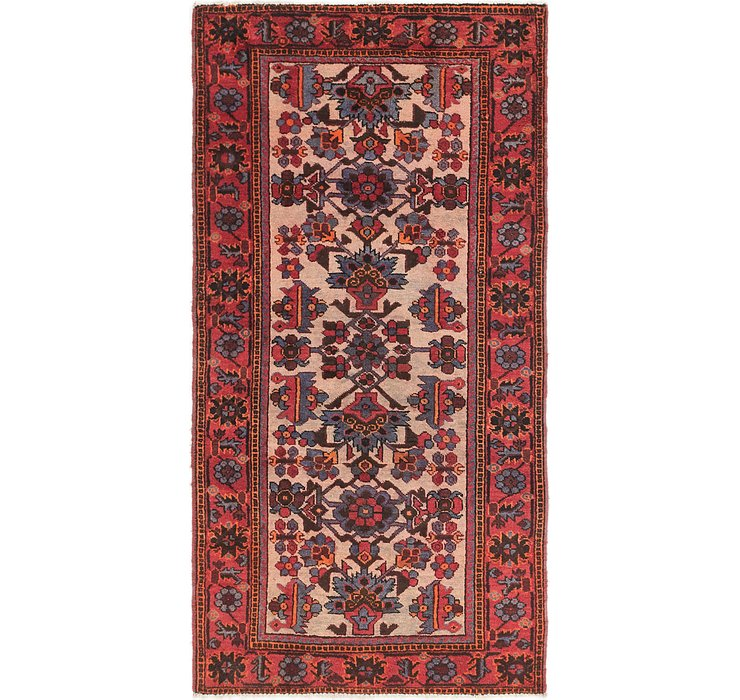 3' 8 x 7' Shiraz Persian Runner Rug