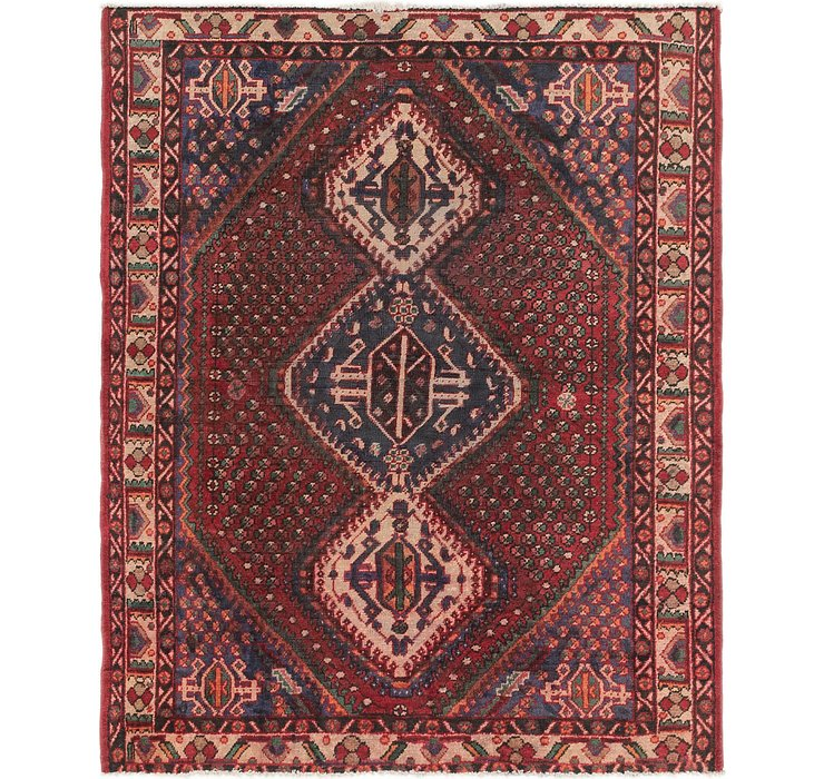 5' x 6' 3 Farahan Persian Rug
