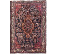 Link to 2' 6 x 5' Mazlaghan Persian Rug