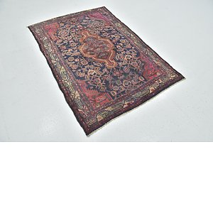 Link to 2' 6 x 5' Mazlaghan Persian Rug item page