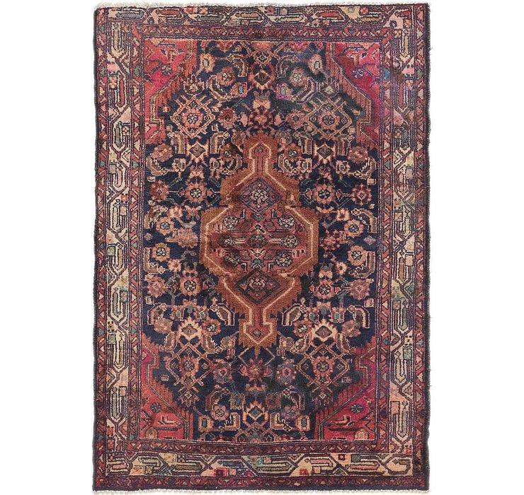 2' 6 x 5' Mazlaghan Persian Rug