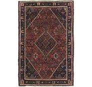 Link to 4' 5 x 6' 8 Joshaghan Persian Rug