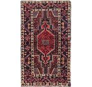Link to 102cm x 178cm Mazlaghan Persian Rug