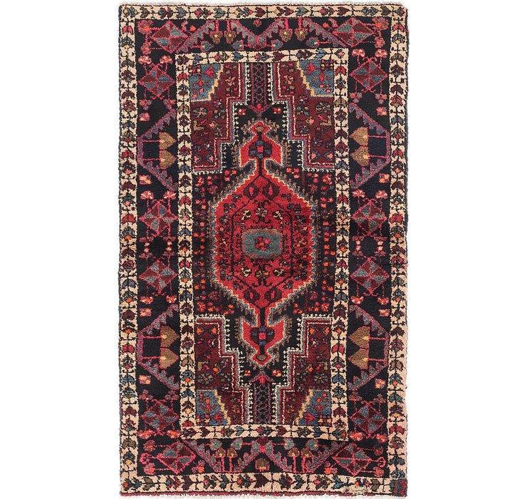 3' 4 x 5' 10 Mazlaghan Persian Rug