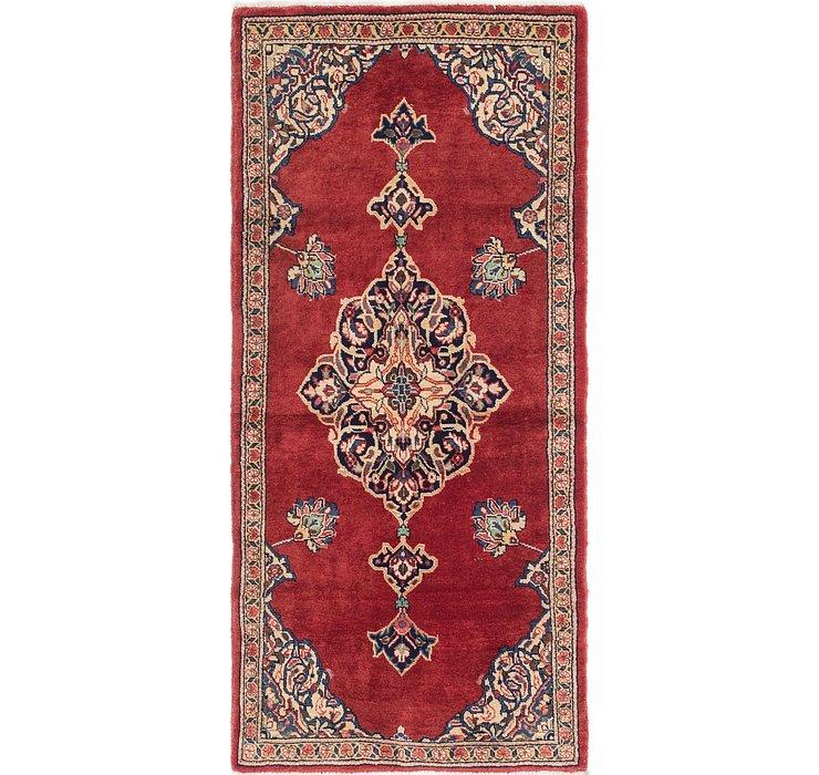 3' 2 x 7' Golpayegan Persian Runn...