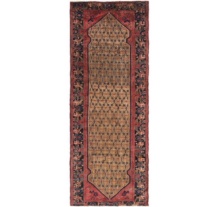 4' 4 x 11' Songhor Persian Runner ...