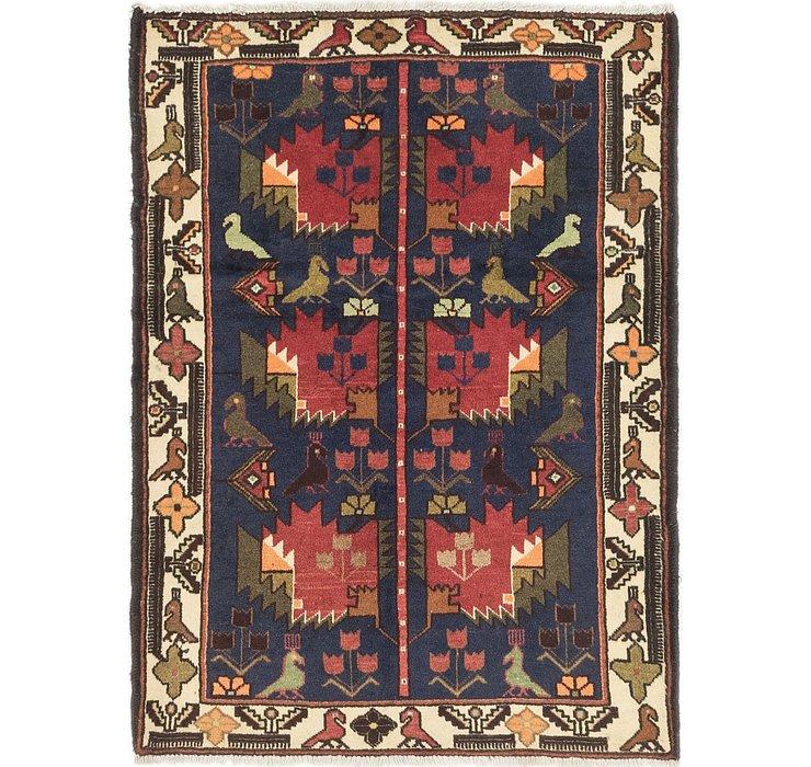 107cm x 147cm Roodbar Persian Rug