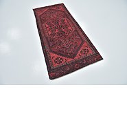 Link to 2' 10 x 6' 3 Mazlaghan Persian Runner Rug